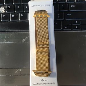 42mm Milanese Loop Band for Apple Watch Gold